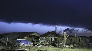 VIDEO. Les images impressionnantes de la formation de la tornade de l'Oklahoma