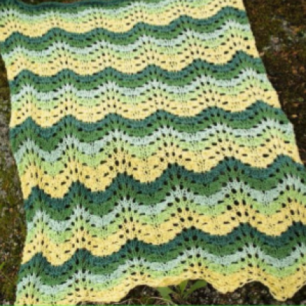 Road Trip Blanket - Free Pattern