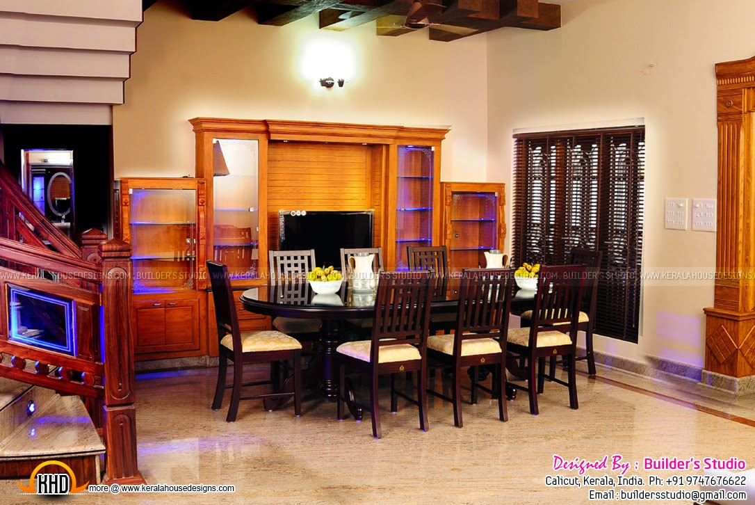 House construction kerala kerala home design and floor plans for Dining room designs kerala