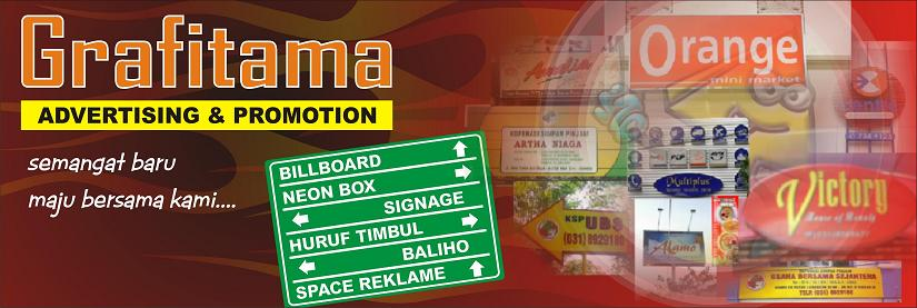 neon box billboard grafitama murah