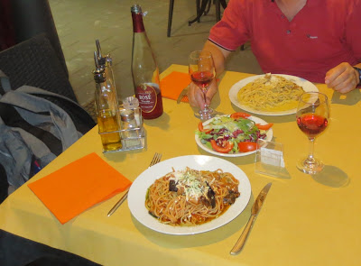 Pasta in Ostia