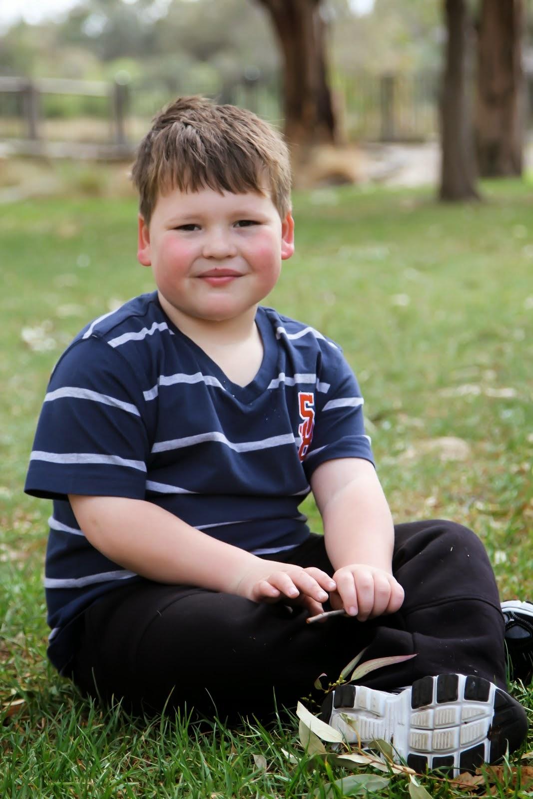 Zac, aged 7