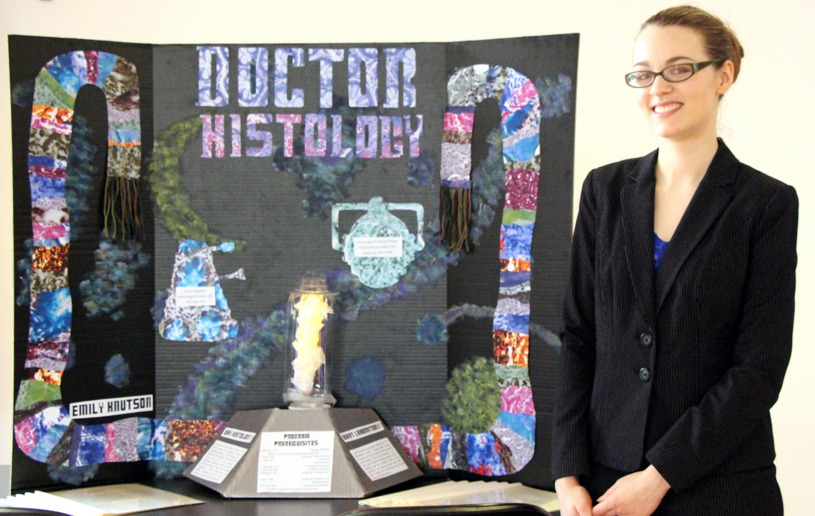 Students Look Toward Careers at Histology Fair