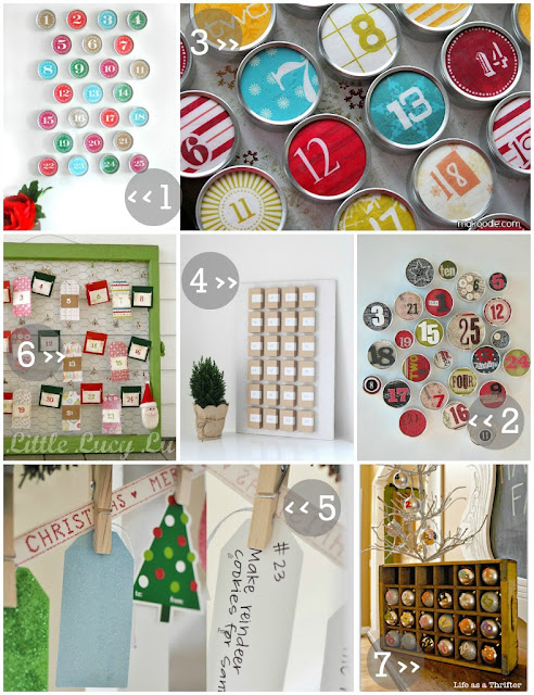 advent calendar ideas and inspirations