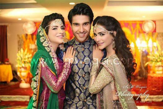 Dua Malik & Sohail Haider Mehandi Pictures