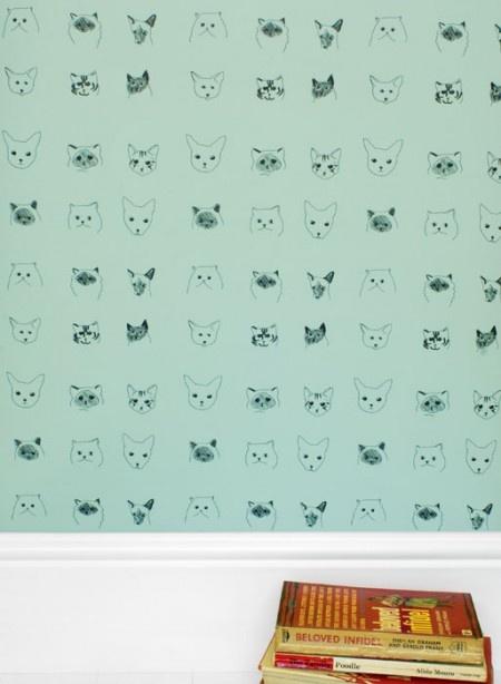 paredes empapeladas con gusto