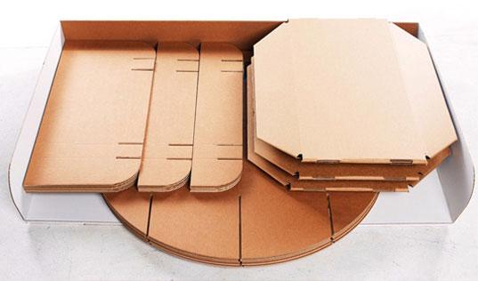 Membuat meja daripada Kotak (4 Photos)