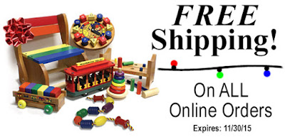 Free Shipping at Holgate Toys