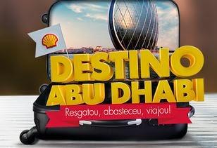 Destino Abu Dhabi Crédito de Combustível Shell e Bradesco Cartões