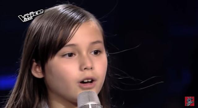 """Stephanie Jordan belts out """"Skyscraper"""" on The Voice Kids Season 2"""