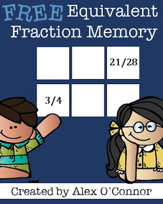 https://www.teacherspayteachers.com/Product/Equivalent-Fraction-Memory-Game-393904