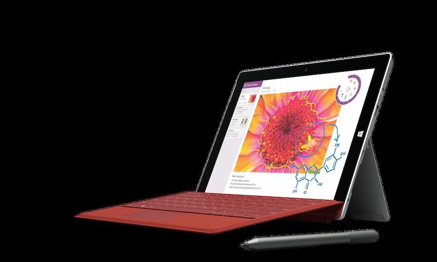 مايكروسوفت تكشف عن حاسوبها اللوحي الجديد Surface 3