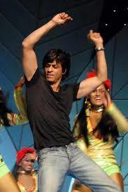 Shah Ruhk Khan dancing