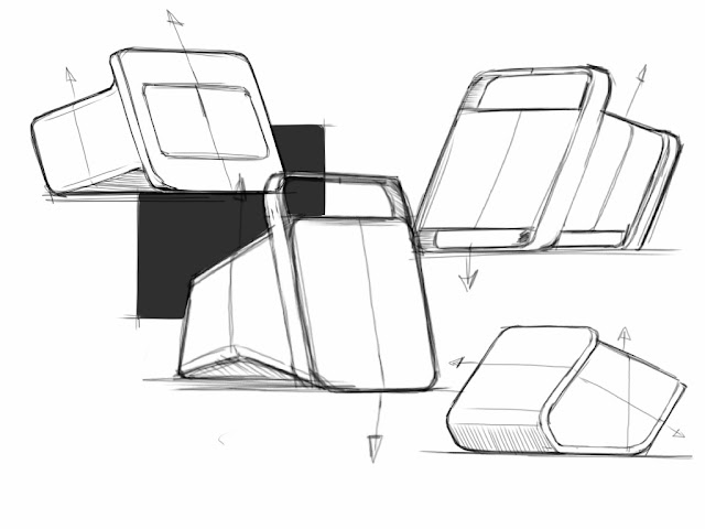 some boxes made in SketchBook Pro