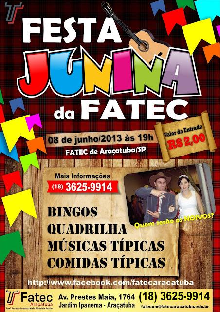 Festa Junina na Fatec de Araçatuba - Um Asno