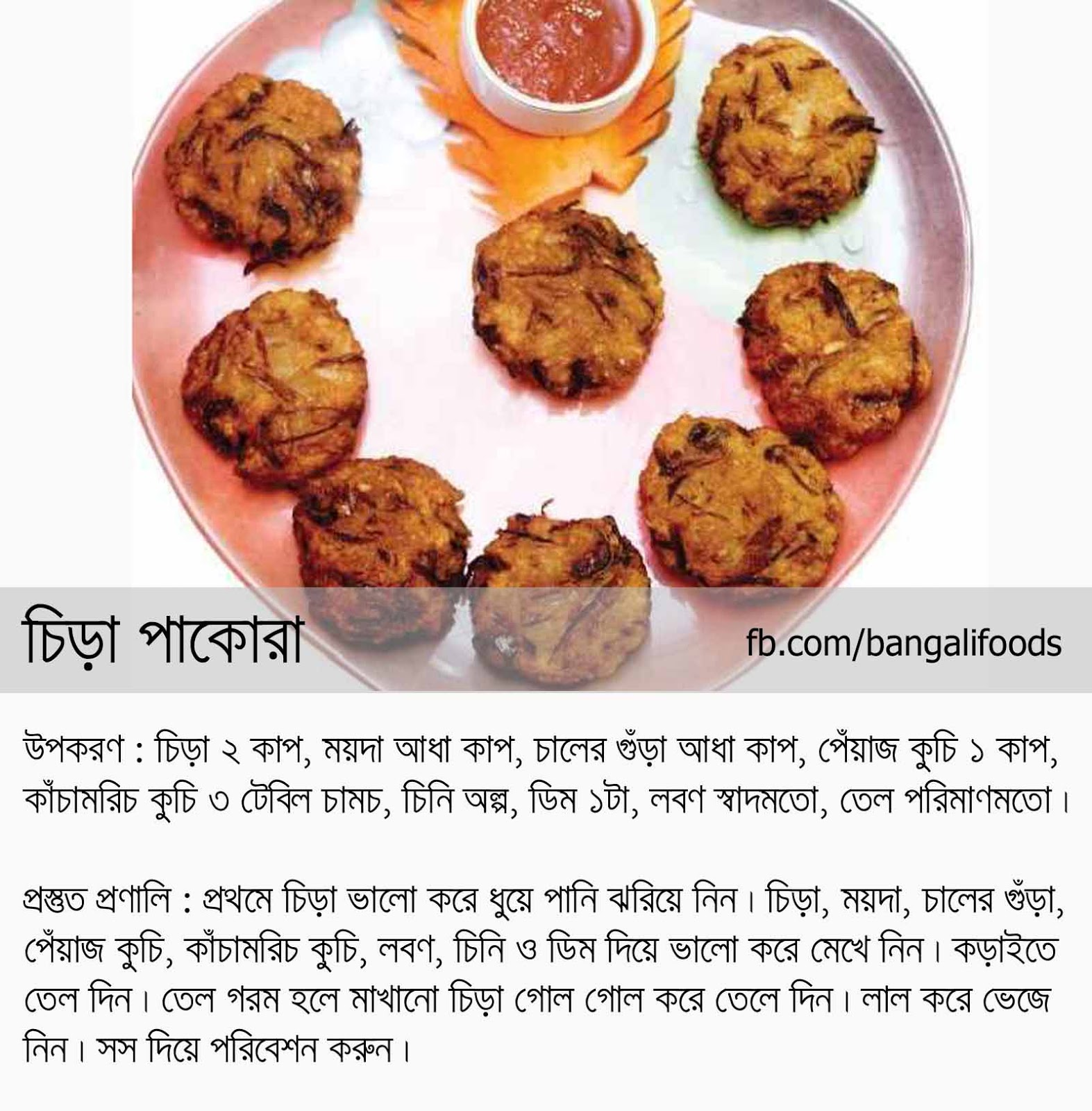 Chicken pakora recipe in bengali language best chicken recipes chicken pakora recipe in bengali language forumfinder Images