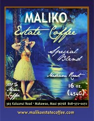 OUR LABEL - 100% Maui Blend