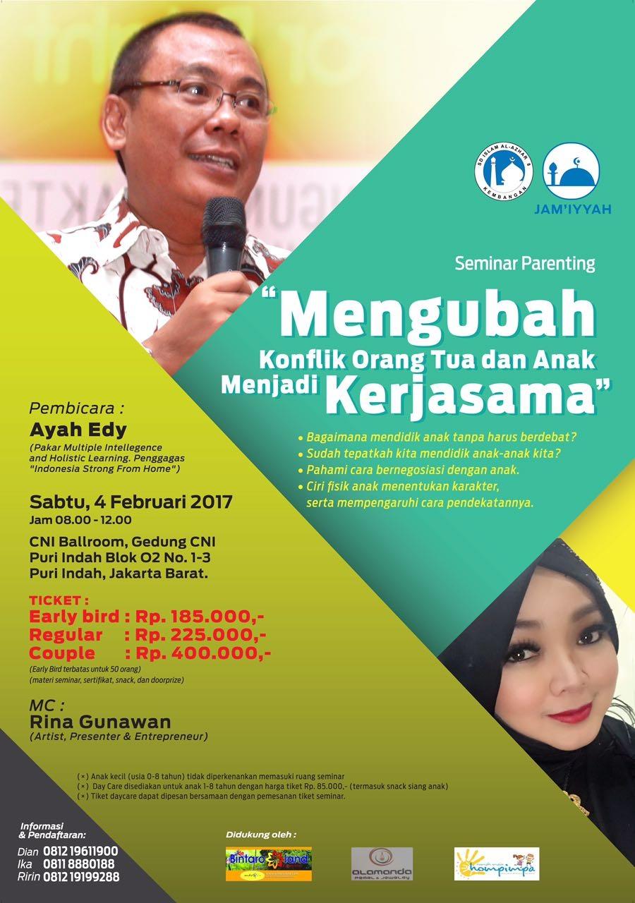 SEMINAR DI JAKARTA 4 FEBRUARI 2017