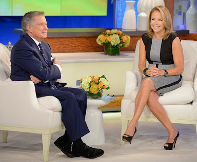 times square gossip regis philbin gives katie marriage advice god s