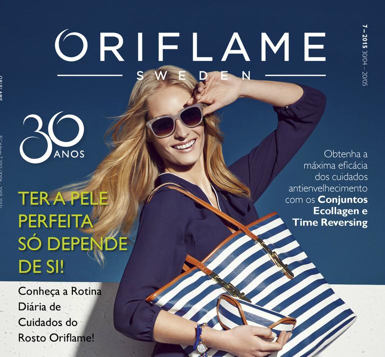 Catálogo 07 de 2015 da Oriflame