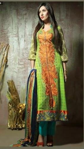 Amna Ismail Eid Dresses 2014