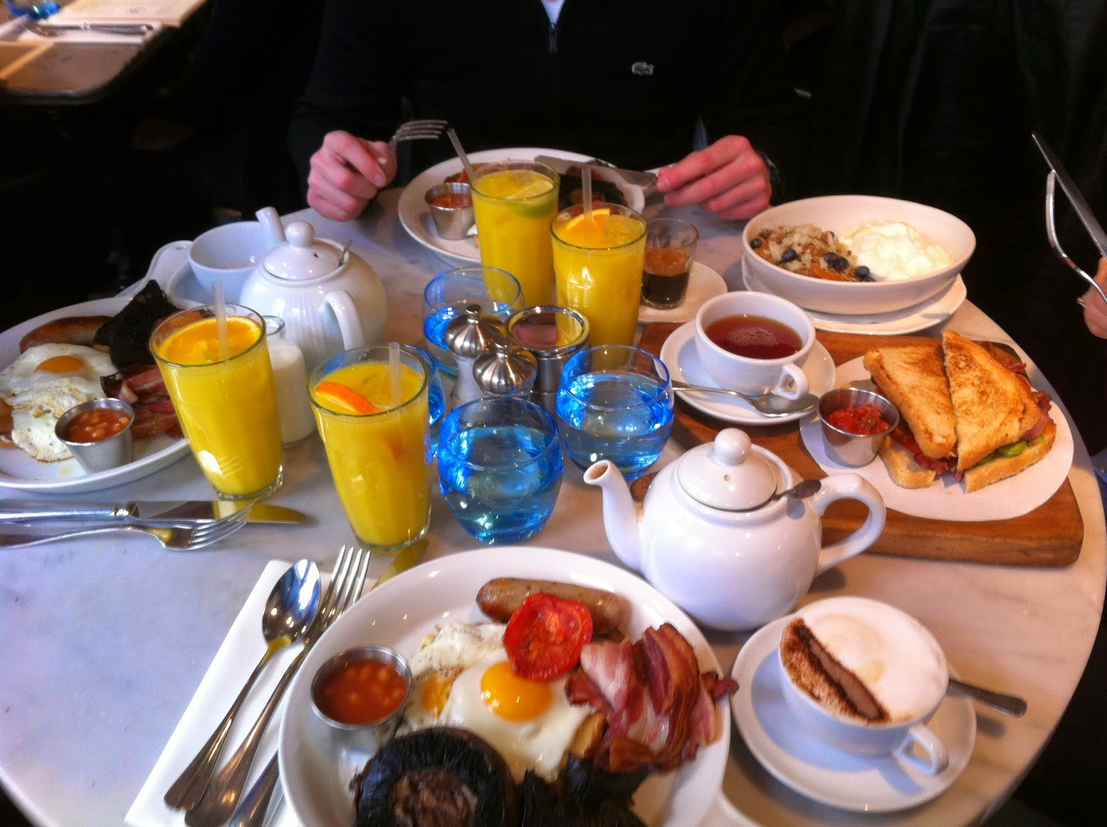 Adresse de brunch à Londres The Riding House Café