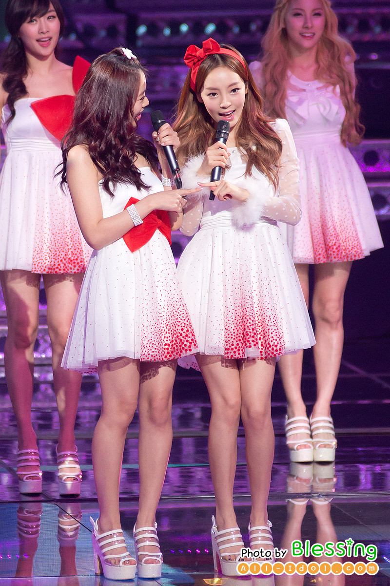 Another Cute HARA at MBC gayo daejun