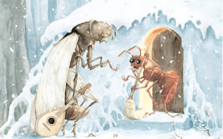 Dongeng Semut dan Belalang dalam Bahasa Inggris