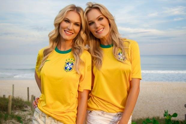 Famosos entram em clima de Copa do Mundo