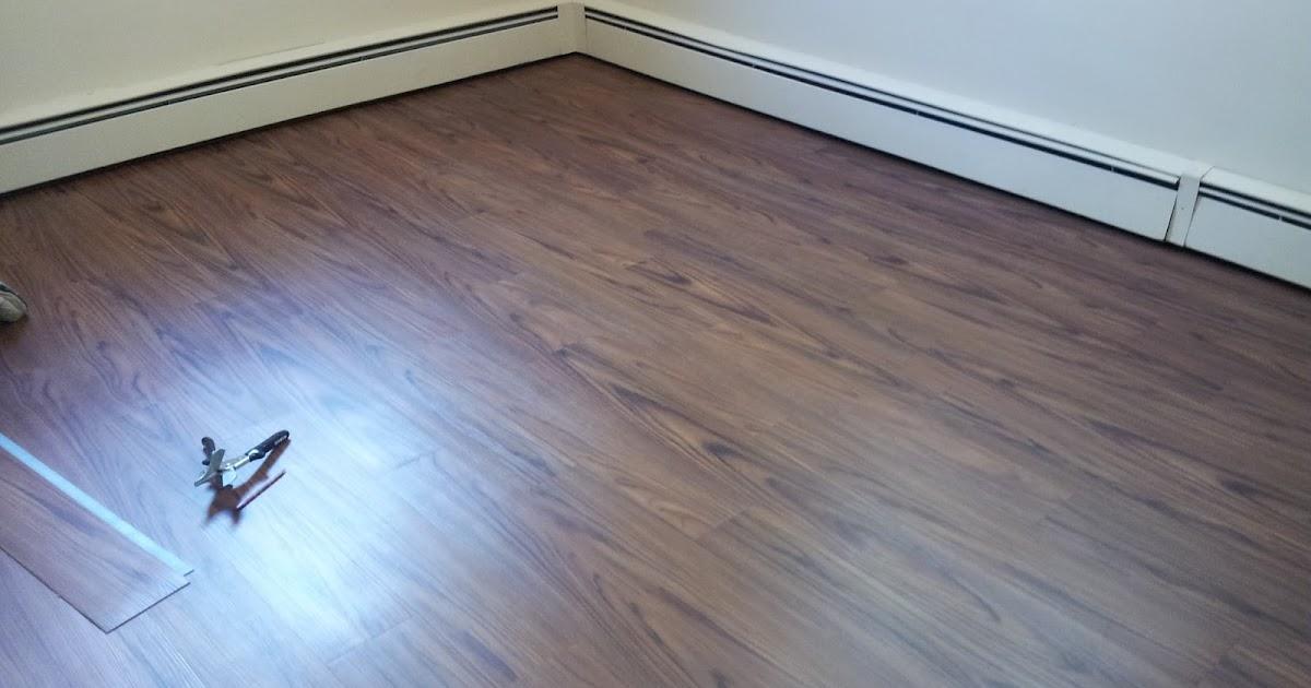 Floor Installation Photos: Wood looking vinyl floor in ...