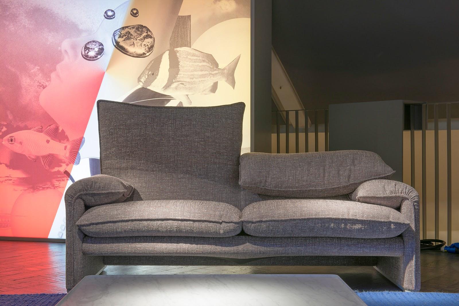Cesare chimenti fotografo il divano maralunga compie 40 anni - Divano cassina maralunga ...