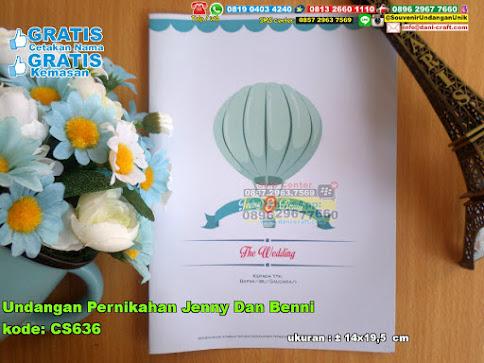 Undangan Pernikahan Jenny Dan Benni