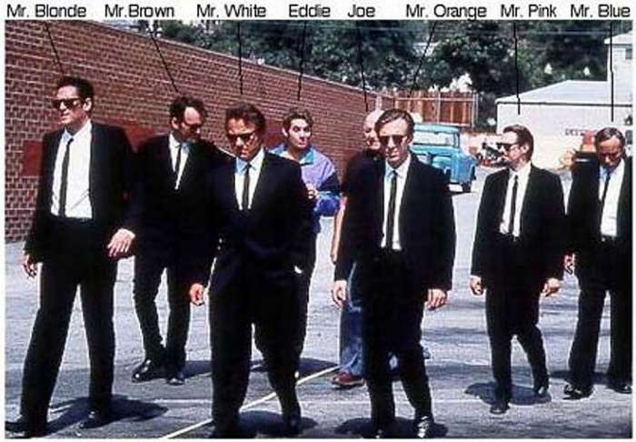 Men in Black Dresses