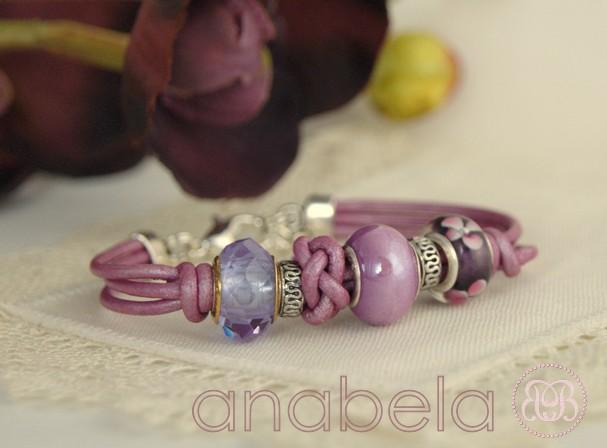 pulsera-de-cuero-murano-cristal-cerámica
