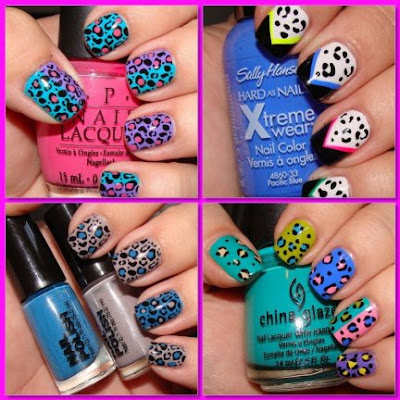 Fotos de Unhas decoradas com animal print