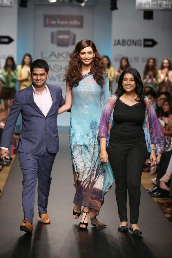 Karishma Tanna at Lakme Fashion Week Summer/Resort 2014