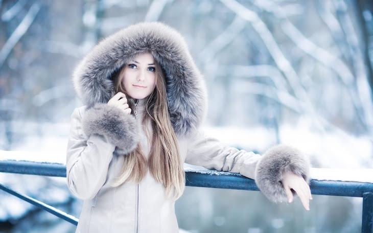 Russian Winter Girl