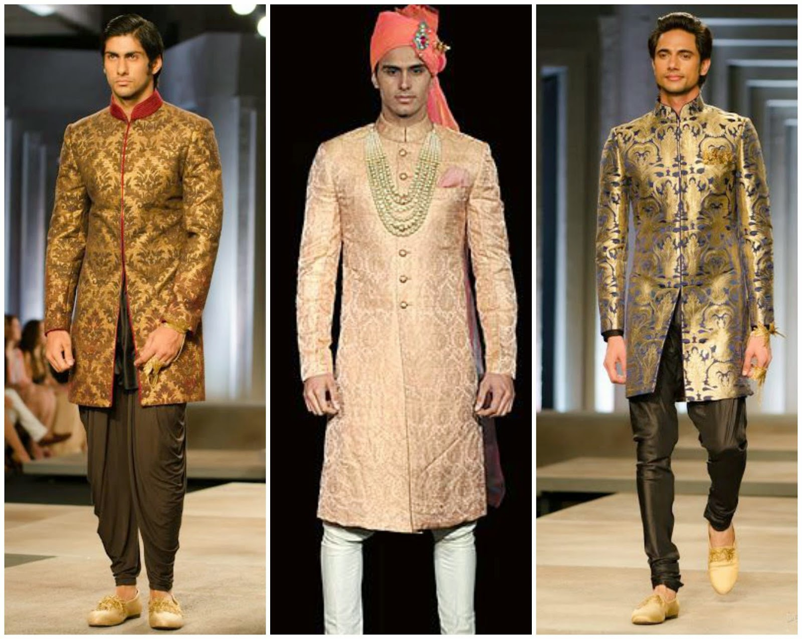 Brocade designer sherwani, wedding brocade sherwani