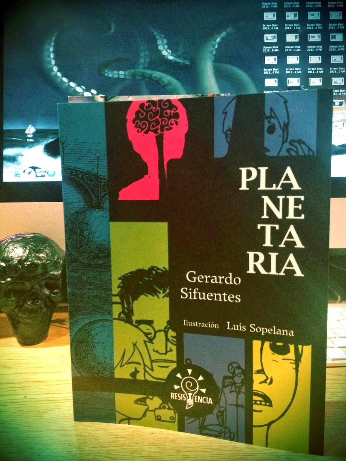 """Presentación del libro """"Planetaria"""" de Gerardo Sifuentes"""
