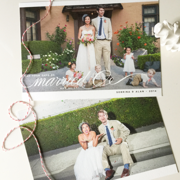 wedding thank you cards wording