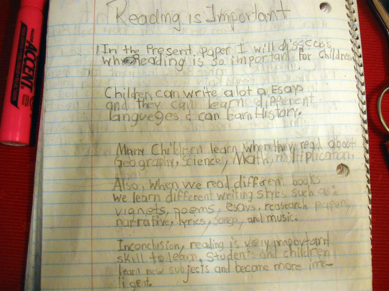 my kool tree house nd grade writing log casual thoughts in this area you will a sample of my writing log casual thoughts drawings and essays accomplished in my 2nd grade level when i was 7 years old at