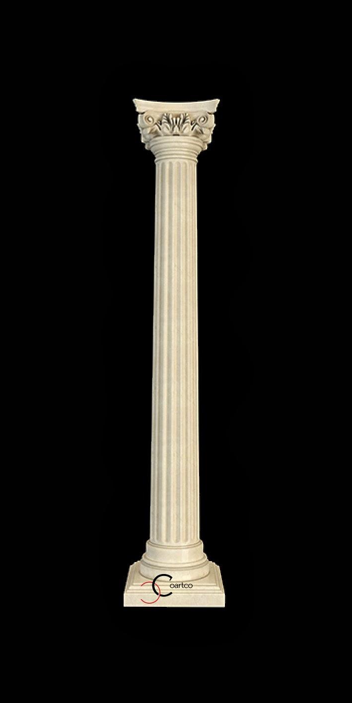Coloane decorative din polistiren, coloane ionice, coloane grecesti