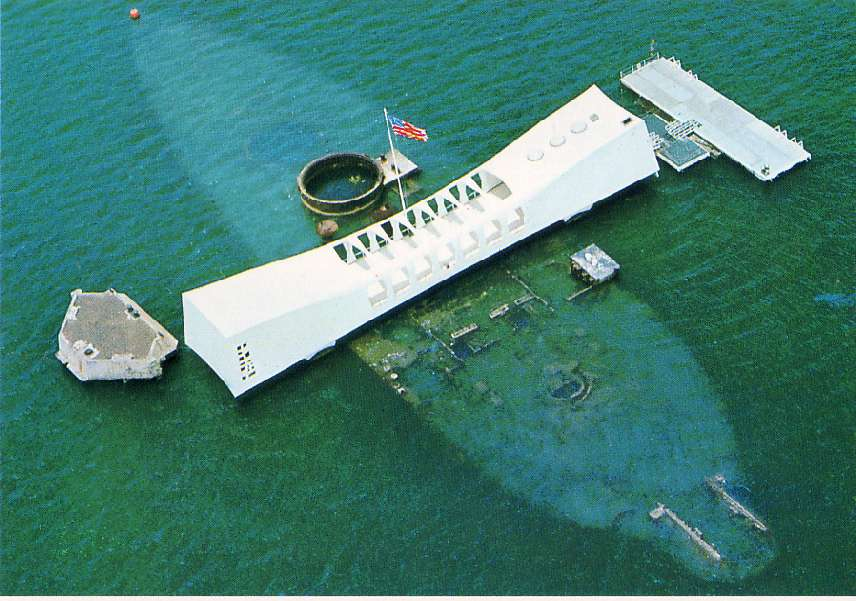 Uss Arizona Human Remains The USS Arizona Memorial was