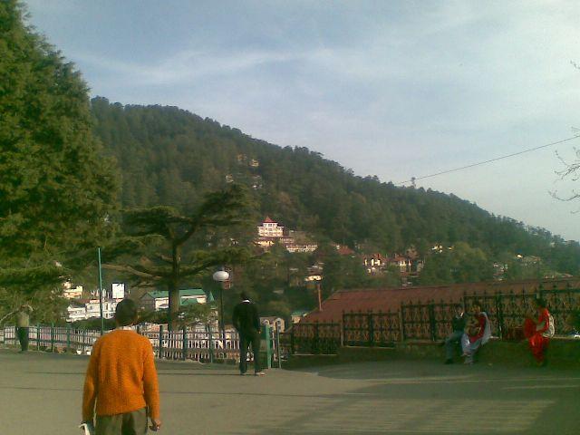 mall road,himachal pradesh