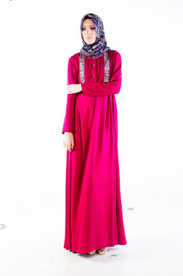 Contoh Dress Casual Shafira Muslim Terbaru 2015