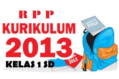 RPP lengkap Kurikulum 2013 untuk jenjang SD kelas 1 semester 1. .