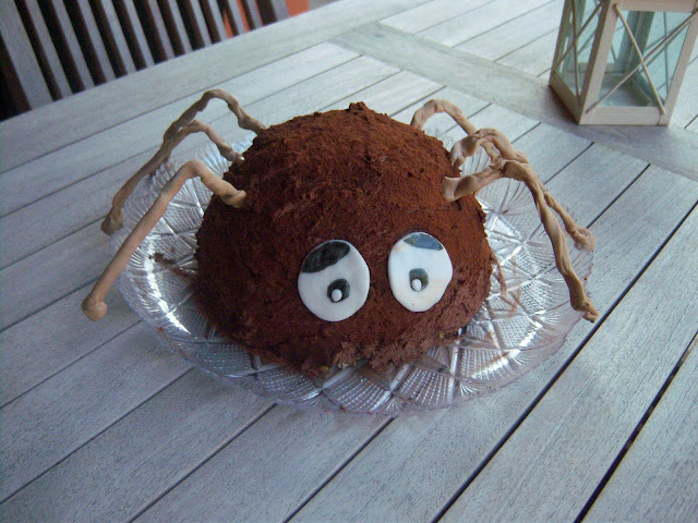 torta ragno halloween