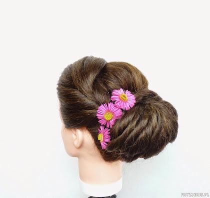 fryzura ślubna 40