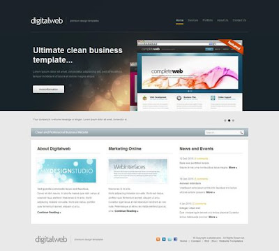Template DigitalWeb