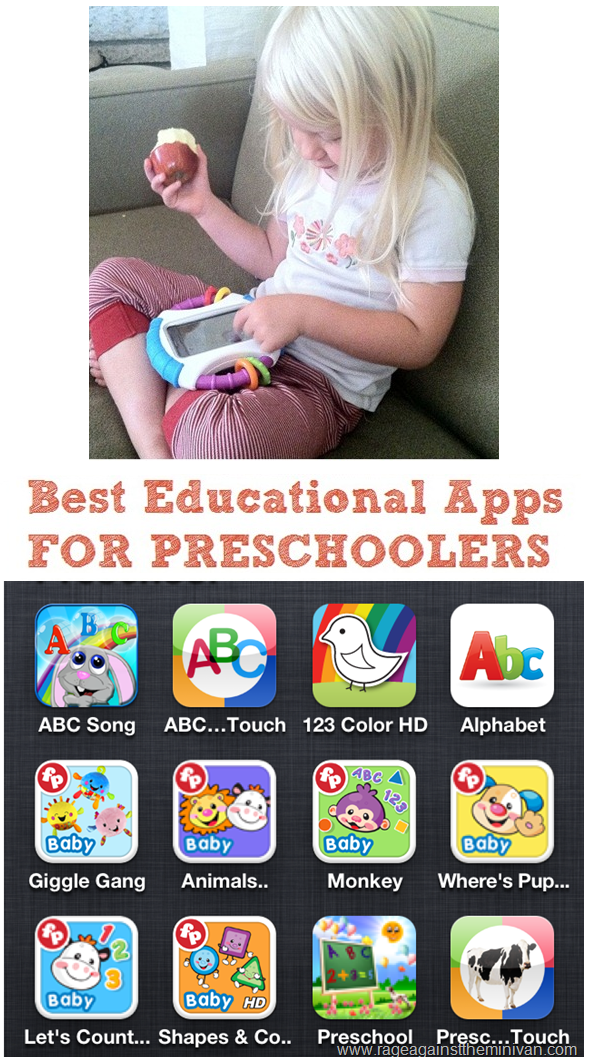best preschool apps for ipad rage against the minivan best iphone and apps for 456